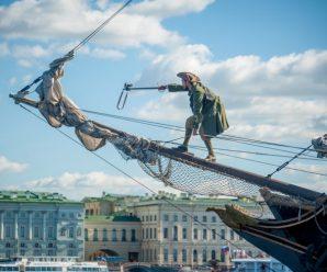 Морской фестиваль у Петропавловки — паруса, музыка, ливень, гроза и фейерверк