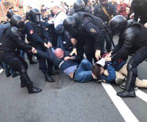 Общественность возмутили задержания демонстрантов на 1 мая